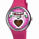 Werbeuhr Lolly Clock