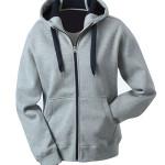 Hooded Lady grau / navy