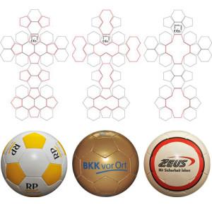 Promotionball aus Synthetikledermaterial (wettkampf- und trainingstauglich)
