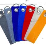 Werbeartikel Filz-Schlüsselanhänger