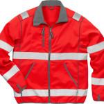 Warnschutzbekleidung Softshell-Jacke