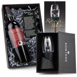 Werbegeschenk Rotweinbelüfter fürs Glas